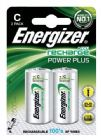 Energizer Battery Rechargeable Advanced Size C 1.2V NiMH 2500mAh HR14 1 Ref 633001 [Pack 2]